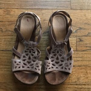 CLARK'S Fancy Walking Shoes